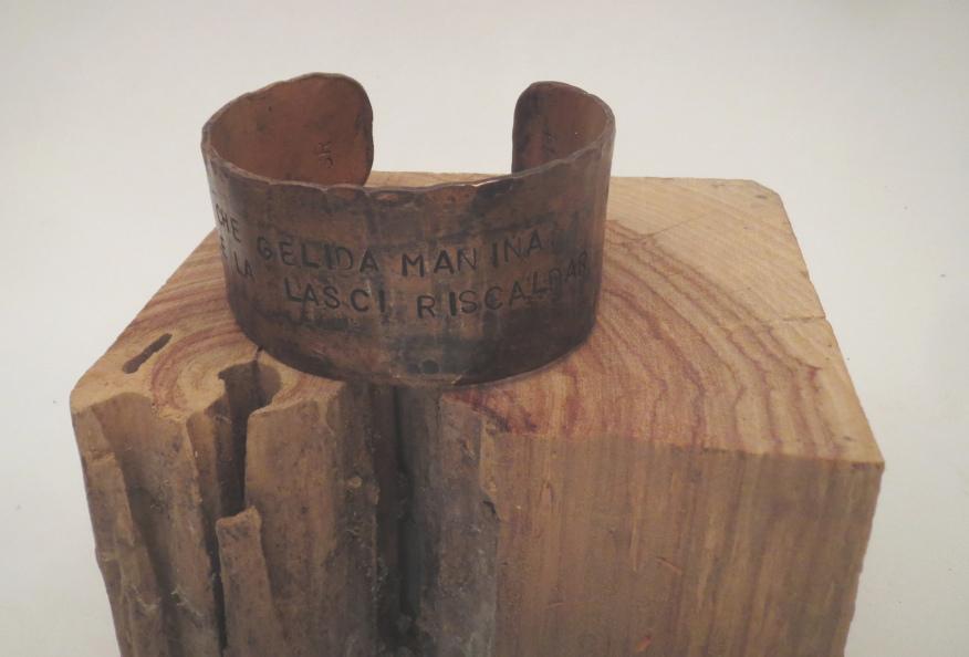 La Bohème copper cuff