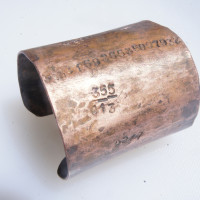 big PI copper cuff