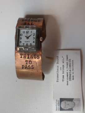 Time Brings All square watch