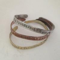like a thunderbolt 6/26/15 bracelets